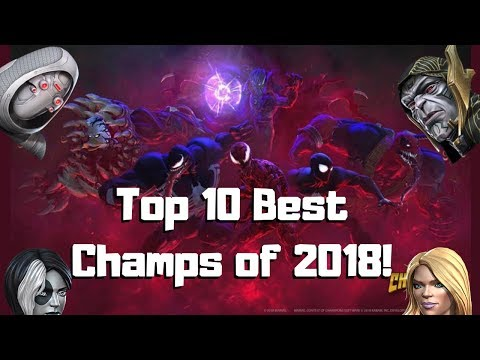 Top 10 Best Champs Released In 2018! - Marvel Contest of Champions