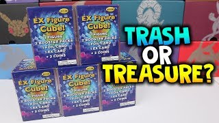 EX FIGURE CUBES ARE BACK!!! - Pokemon Card Opening Trash or Treasure!?