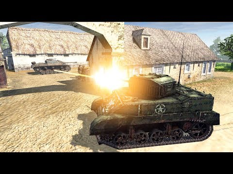 US Airborne & Tank Clears Normandy Town 1944 | Men of War: Assault Squad 2 Gameplay