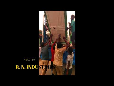 FRP CABIN LOADING | R.N. INDUSTRIES | PORTABLE TOILET | MANUFACTURER | BEST QUALITY |