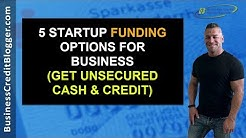 Startup Funding for Business - Business Credit 2019