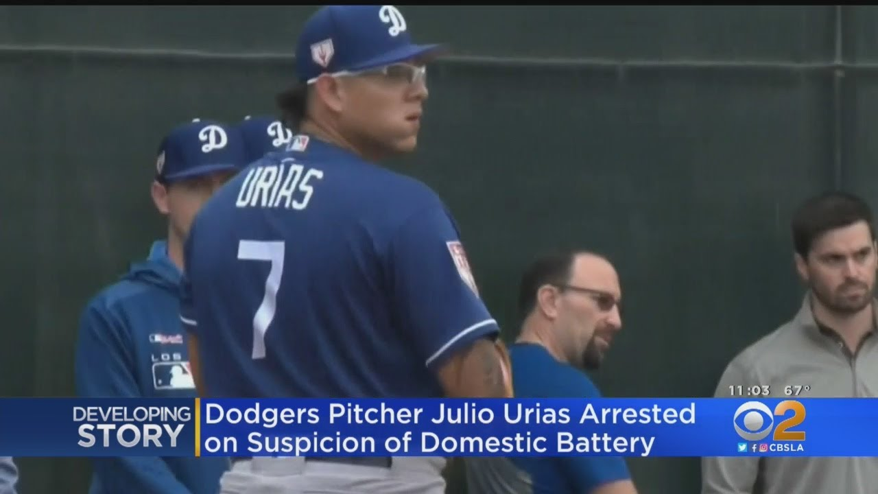 The Sports Report: Julio Urias is arrested