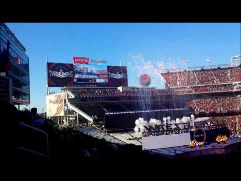 Wrestlemania 31 theme songs by KID INK and SKYLAR GREY