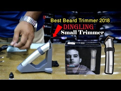 Beard Trimmer | Hair Clipper | Grooming Kit Dingling RF 608 Price in Bangladesh Review