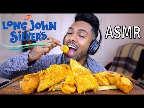 LONG JOHN SILVERS   ASMR