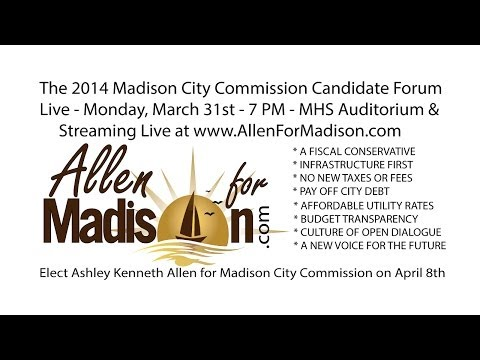 2014 Madison City Commission Candidate Forum