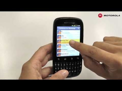 MOTOROLA FIRE - Whatsapp y GTalk
