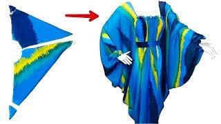 خياطة فستان بكل بساطة و يناسب جميع المقاسات في 6 دقائق
