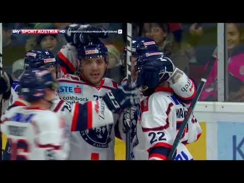 Erste Bank Eishockey Liga, Runde 35: EC-KAC – KHL Medvescak Zagreb 3:4 OT