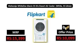 Maharaja Whiteline Glacio 55 Dlx Desert Air Cooler (White, 55 Litres)