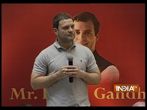 Public Chants Modi-Modi During Rahul Gandhi's Program in Mumbai College
