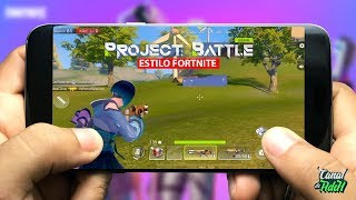 Project Battle Gameplay Android/iOS Alpha Test Gameplay|| Killer Of Pubg Fortnite Fortcraft Free Fire