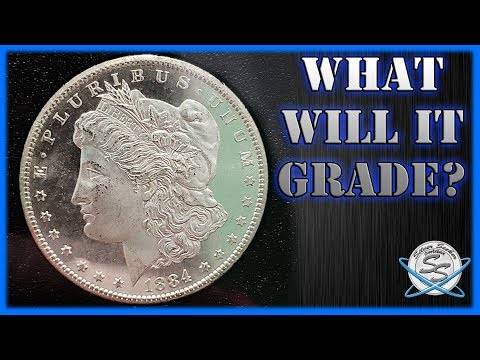 What Will It Grade? 1884-CC Morgan Silver Dollar!