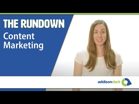 The Rundown: Content Marketing