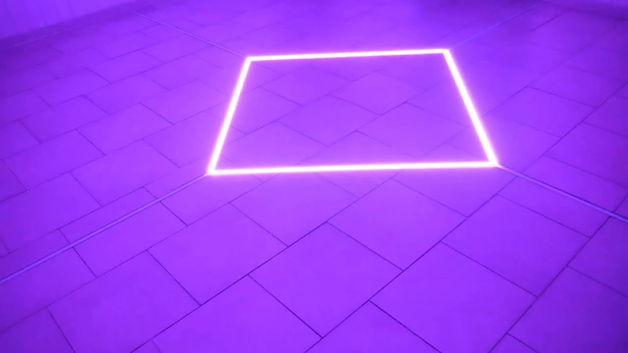 LEDFloor light show  YouTube
