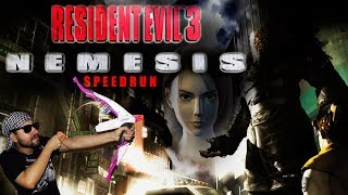 Resident Evil 3- Hard (Speedrun Any%)+ Mercenarios Re3 - gameplay Español