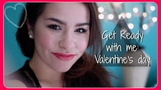 Get ready with me: Valentine's Day + DIY Thumbnail