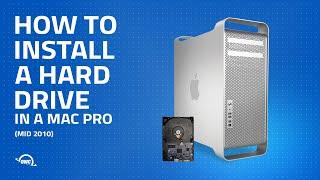Mac Pro (Mid 2010) Hard Drive Installation Video