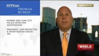 Thomas Ruskin Appears on CCTV - New York City Bombings 09-21-2016
