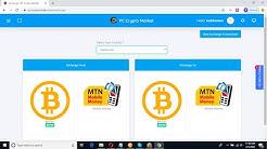 2020 Update Exchange bitcoin for MTN Mobile Money & MTN Mobile Money for Bitcoin on PC Crypto market