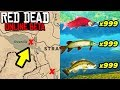 *SECRET* UNLIMITED FISH GLITCH LOCATIONS TO MAKE FAST MONEY in Red Dead Online! Easy Money Tips RDR2