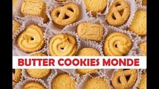 Cara Membuat Butter Cookies Ala Monde