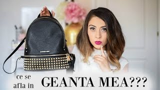 Ce se afla in geanta mea? | What's in my bag