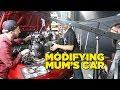 Modifying Mum's Car