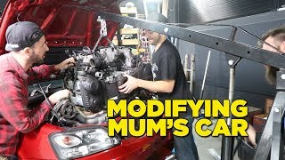 Modifying Mum's Car