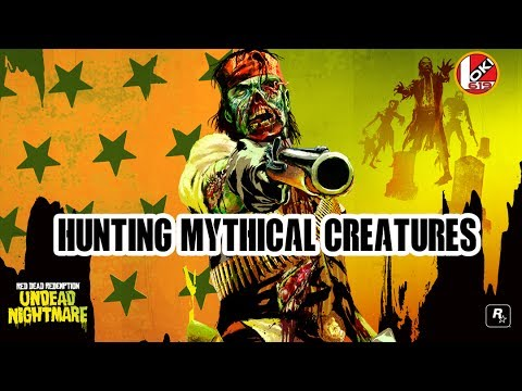 Red Dead Redemption Hunting Mythical Creatures Youtube