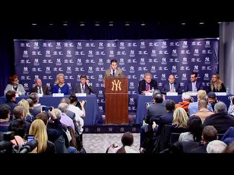 FULL Press Conference - Yankees Introduce Aaron Boone As New Manager