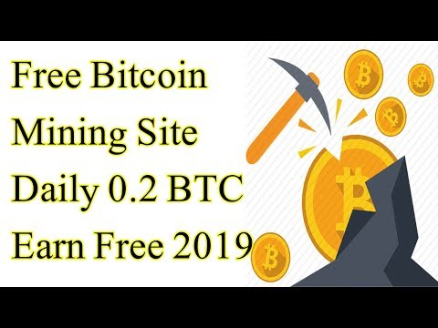 New Free Bitcoin Cloud Mining Site | Earn Free Bitcoin |2019