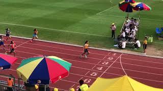 Publication Date: 2018-04-12   Video Title: 杜文靖及黃曉桐同學囊括女子甲100米冠軍及亞軍
