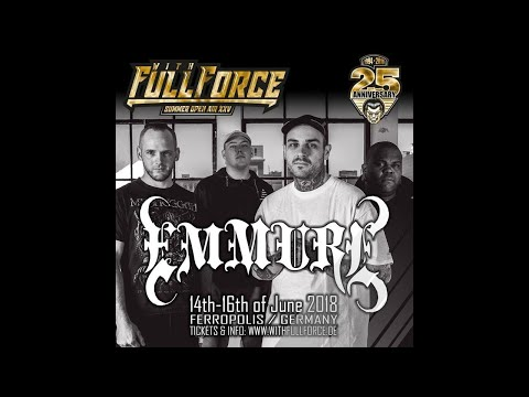 EMMURE live at With Full Force Festival 2018 in Gräfenhainichen, Germany