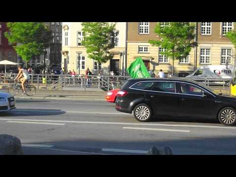 Hamas driving by in Copenhagen