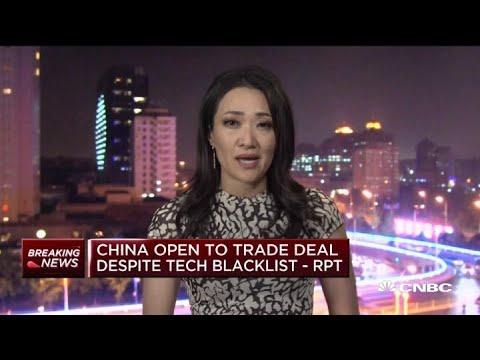 China open to partial trade deal despite tech blacklist: Report