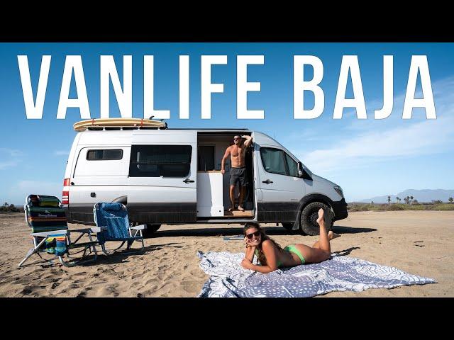 VANLIFE in Baja Mexico in 2 Minutes