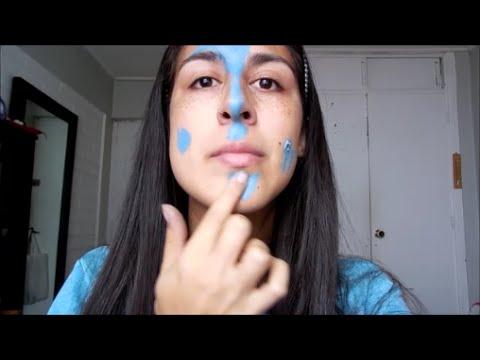 Cómo hacer pinturas para la cara ???? HALLOWEEN | Dani Sanchez Cruz ...