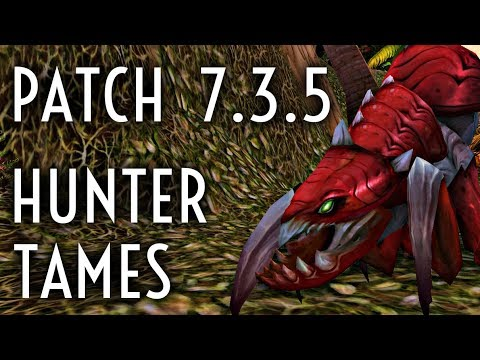 WoW Guide - New Hunter Pet Tames - Patch 7 3 5