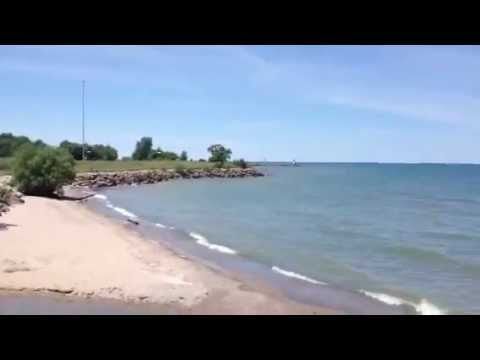 Lake Erie at Geneva On The Lake, Ohio