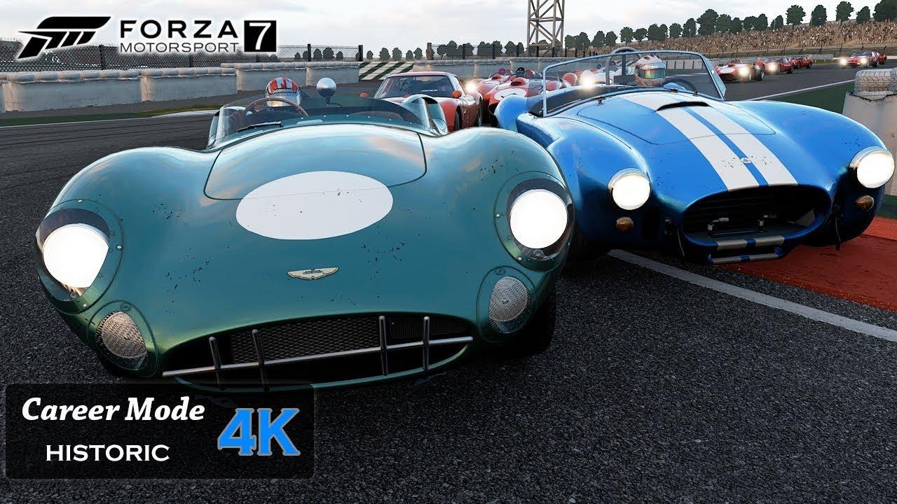 Forza Motorsport 7 Onboard [4K] Historic Race - Moments in ...