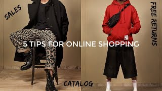 5 TIPS FOR SHOPPING FOR CLOTHES ONLINE | Men's Fashion | Daniel Simmons