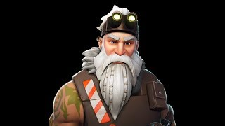Review of Winter Sergeant Skin!! /Fortnite/Young Gabson