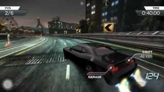 Need for Speed Most Wanted on iPhone 5 gameplay