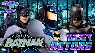 Top 5 Best Batman Actors