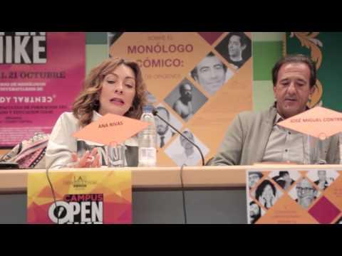 Éxito de participación en el II Congreso Universitario UAM sobre 'El Monólogo Cómico'