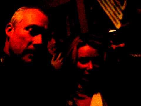 Robert Wilson and Dana Frances at Improv for Andrea's Bday
