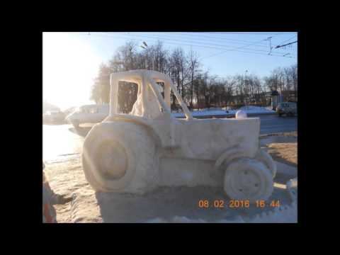 снежные и ледяные скульптуры
