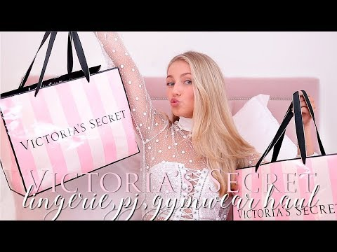 HUGE Victoria's Secret Haul- Lingerie, PJ's, Gym Wear ~ Freddy My Love