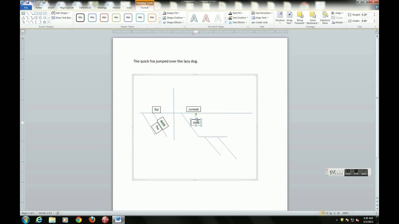 Sentence diagramming with microsoft word youtube sentence diagramming with microsoft word ccuart Choice Image